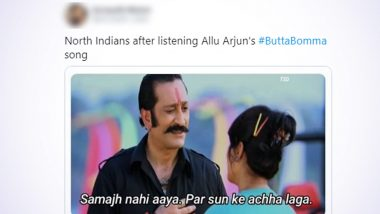 #ButtaBomma Funny Memes and Jokes Trend on Twitter After Cute Video of a Toddler Dancing to the Beats of The Popular Telugu Number Goes Viral!