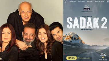 Sadak 2: Sanjay Dutt to Finish Last Leg of Dubbing for Mahesh Bhatt's Film Before His Medical Treatment Break