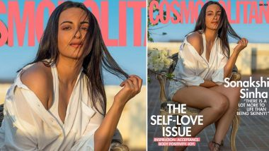 Sonakshi Sinha Sends Out A Strong Message On Body Positivity As She Turns Cover Girl For Cosmopolitan's Latest Issue (View Pic)