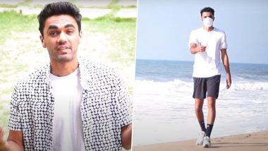 'Mask On': Indian Tennis Player Adil Kalyanpur's Rap Song on COVID-19 Virus Goes Viral (Watch Video)