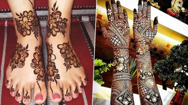 Sawan 2020 Mehndi Designs: Celebrate Shravan Month with These Easy Arabic, Indian and Vine Mehendi Patterns! (Views Mehandi Images and Tutorial Videos)