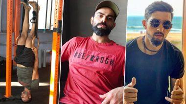 Virat Kohli, Ishant Sharma Troll Mayank Agarwal on 'Upside Down' Training Post