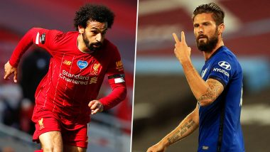 Liverpool vs Chelsea, Premier League 2019–20: Mo Salah, Olivier Giroud and Other Players to Watch Out in LIV vs CHE Football Match