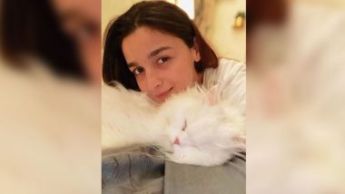 Alia Bhatt's Pet Keeps the Actress' Calm in Every Storm; Raazi Star Poses Alongside Her Cat Edward (View Pic)