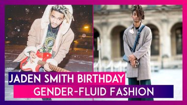 Jaden Smith Birthday: 7 Gender-Fluid Looks Of The Karate Kid Straight From His Instagram!