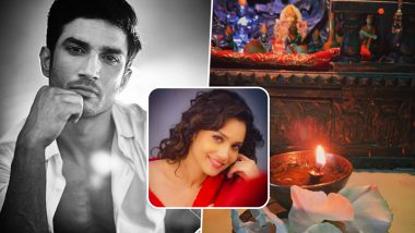 RIP Sushant Singh Rajput: Ankita Lokhande Remembers Late Actor a Month After His Demise, Lights a Lamp