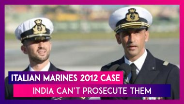 Tribunal Rules India Can't Prosecute Italian Marines In 2012 Fishermen Killing Case Due To Immunity