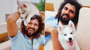 Vijay Devarakonda Welcomes Storm Devarakonda Into The Family And The Pup Husky Has Our Hearts (View Post)