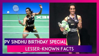 PV Sindhu Lesser-Known Facts: Things To Know About The Indian Badminton Star On Her 25th Birthday