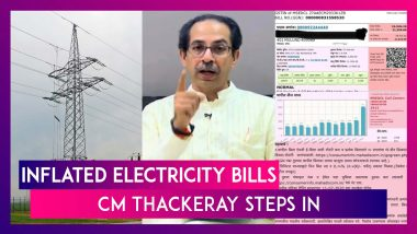 Maharashtra CM Uddhav Thackeray Steps In After Rising Complaints Of Inflated Electricity Bills