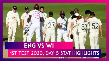 ENG vs WI, 1st Test 2020, Stat Highlights: West Indies Beat England By Four Wickets
