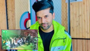 Guru Randhawa Performs Live After 3 Months with Precautions and Social Distancing Measures