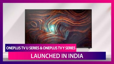 OnePlus TV U Series 55U1, OnePlus TV Y Series with OxygenPlay Introduced in India; Check Prices, Features, Variants & Specifications