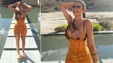 Hot and Happening! Kylie Jenner Flaunts Her Curves in This Sexy Bodycon Dress (View Pics)