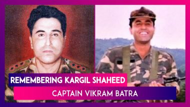 Shaheed Captain Vikram Batra 21st Death Anniversary: Remembering The 1999 Kargil War Hero