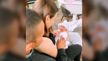Usman Khawaja, Wife Rachel Blessed With a Baby Girl; Couple Names Her Aisha (See Pic)