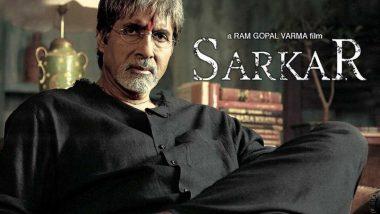 15 Years of Sarkar: Amitabh Bachchan Pens Few Lines Reminiscing Ram Gopal Varma's Gangster-Drama