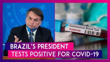 """Brazil's President Jair Bolsonaro Tests Positive For Coronavirus, Says, """"Life Goes On"""""""