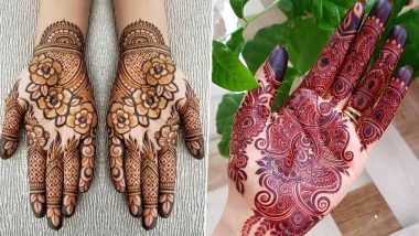 Raksha Bandhan 2020 Latest Mehendi Designs: Easy Arabic, Indian & Vine Mehndi Patterns for Front & Back Hand! Check out Mehandi Images & Tutorial Videos