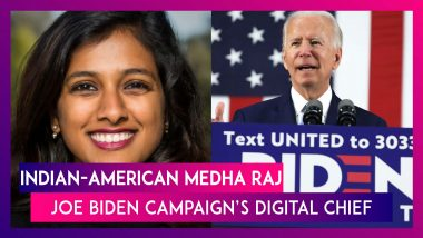 Joe Biden Names Indian-American Medha Raj As Digital Chief Ahead Of US Presidential Elections 2020