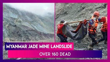 Myanmar Jade Mine Landslide Leaves More Than 160 People Dead