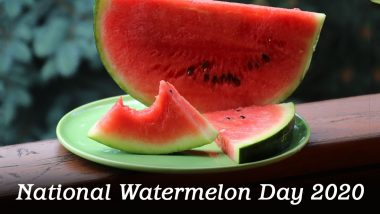 National Watermelon Day 2020 (US): From Improving Heart Health to Reducing Muscle Soreness, Here Are Five Health Benefits of This Nutritious Fruit