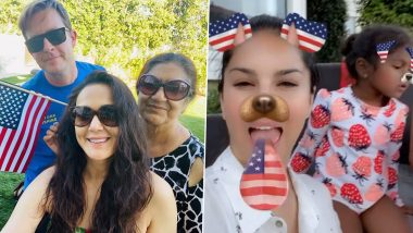 Preity Zinta and Sunny Leone Celebrate Fourth Of July With Their Families In The US (View Posts)