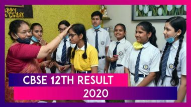 CBSE 12th Result 2020 Declared: 88.78% Pass, Check CBSE Class 12 Board Exam Result Statistics