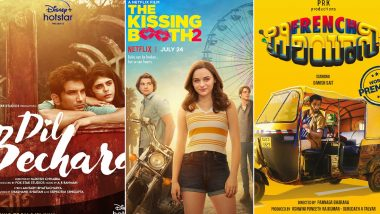 OTT Releases Of The Week: Sushant Singh Rajput's Dil Bechara, Joey King's The Kissing Booth 2, Danish Sait's French Biryani and More