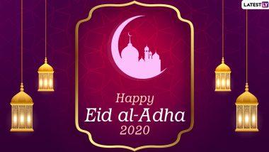 Hari Raya Haji 2020 Greetings Eid Al Adha Hd Images Selamat Hari Raya Haji Wishes Whatsapp Stickers Bakrid Facebook Messages Gif And Sms To Celebrate The Festival Of Sacrifice Latestly