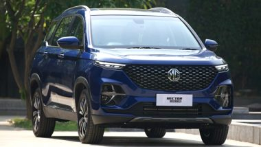 MG Hector Plus 7-Seater To Be Launched in India Next Month