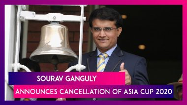 Asia Cup 2020 Cancelled Amid Coronavirus Pandemic, Claims BCCI President Sourav Ganguly