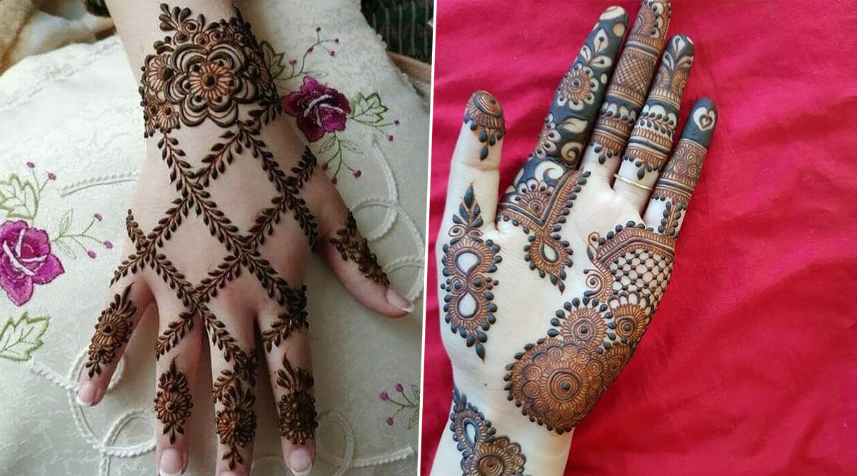 Bakrid 2020 Latest Mehndi Designs From Arabic Pakistani To Rajasthani Vine Style Quick Easy Mehandi Pattern Images And Video Tutorials For Eid Al Adha Latestly
