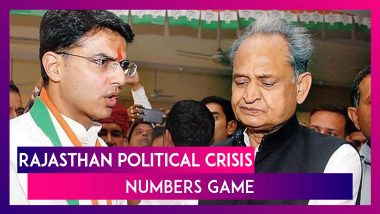 Rajasthan Political Crisis: How Numbers Are Stacked Up in Gehlot vs Pilot Battle