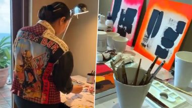 Gauri Khan Is Using Her Quarantine Time to Work; Shares Some of Her Artwork on Upcoming Projects (Watch Video)