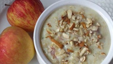 Healthy Apple Rabdi: Here's A Healthy Recipe of This Dessert to Enjoy It Guilt-Free (Watch Video)