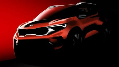 Kia Sonet Sub Compact SUV Officially Teased Ahead Of India Debut