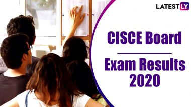 ICSE, ISC Results 2020 Live News Updates: CISCE Will Not Publish Merit List for Class 10, 12 Board Exams, Says Secretary Gerry Arathoon
