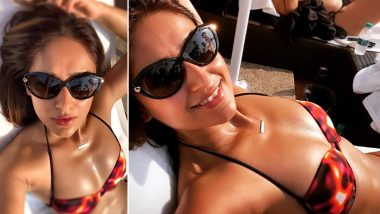 Ileana D'Cruz Posts a Sexy Bikini Pic, Main Tera Hero Co-Stars Varun Dhawan and Nargis Fakhri Drool Over it