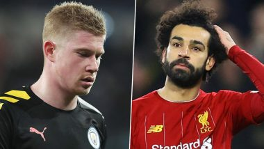 Manchester City vs Liverpool, Premier League 2019–20: Kevin De Bruyne, Mo Salah and Other Players to Watch Out in MCI vs LIV Football Match