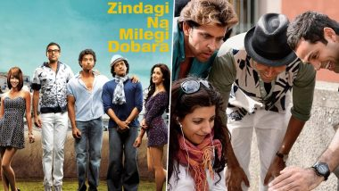 9 Years of ZNMD: Hrithik Roshan, Farhan Akhtar and Abhay Deol Misses Shooting For Zoya Akhtar Directorial