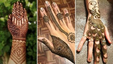 Bakrid 2020 Latest Mehndi Designs Celebrate Eid Al Adha With These Easy Mehandi Patterns From Arabic To Indian Bracelet Vine Style Front Back Hand Images And Video Tutorials Latestly