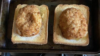 How to Make Garlic Bread While Cooking Chicken Kiev? This Man's Genius Cooking Hack Will Make You Wish You Had Known it Sooner! (View Pic)