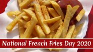 National French Fries Day (US) 2020: From Garlic Baked Fries to Parmesan Potato Wedges, Here Are Five Different Recipes of Finger Chips (Watch Videos)