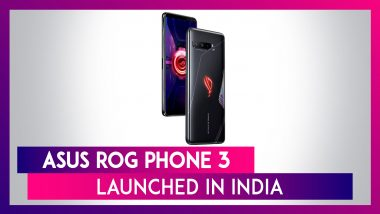 Asus ROG Phone 3 With Snapdragon 865+ SoC Launched In India; Prices, Features, Variants & Specs