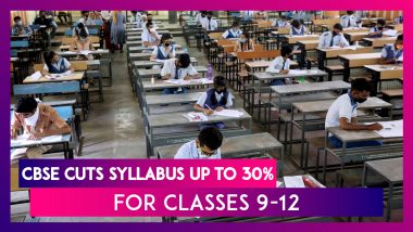 CBSE Cuts Syllabus Up To 30% For Classes 9-12 For The Next Academic Year Due To Coronavirus Dilemma