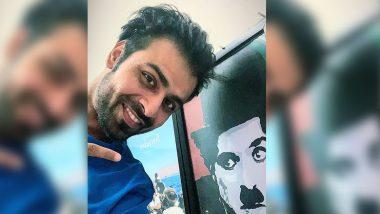 Jitendra Kumar Is In 'Chaplin Mood', Poses Alongside the Portrait of Legendary Charlie Chaplin