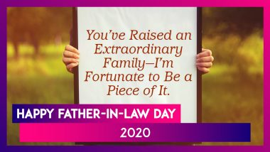 Father-in-Law Day 2020 Greetings: Images, WhatsApp Stickers, Quotes and Messages to Send on July 30