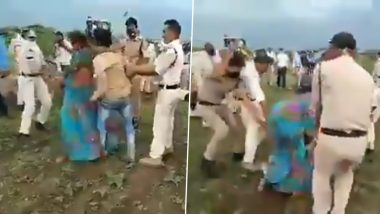Madhya Pradesh CM Shivraj Singh Chouhan Orders Immediate Removal of Guna District Collector and SP After Dalit Couple Consume Pesticide While Resisting Eviction, Video Goes Viral