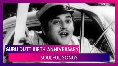 Guru Dutt Birth Anniversary: Chaudhvin Ka Chand, Sun Sun Zalima - 5 Best Songs Of The Pyaasa Star